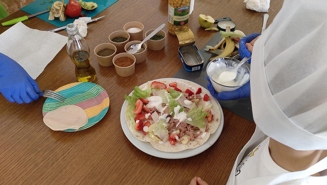 Escolas - Nutrição na Comunidade